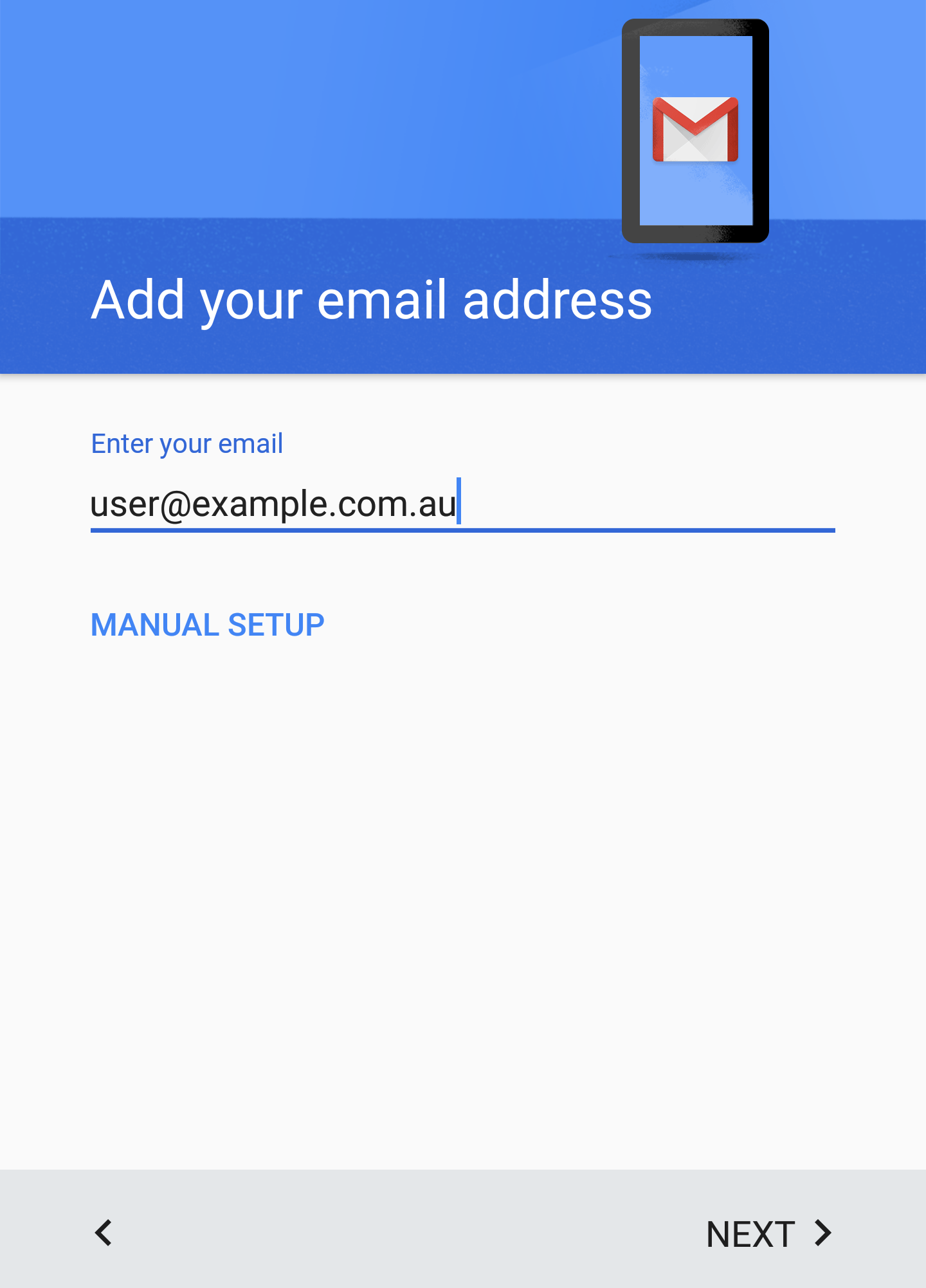 Set up your Zimbra account on your Android device